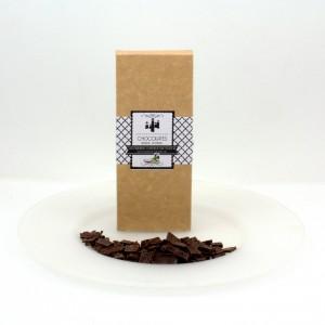 Chocolate negro artesano con AOVE Campopineda PREMIUM